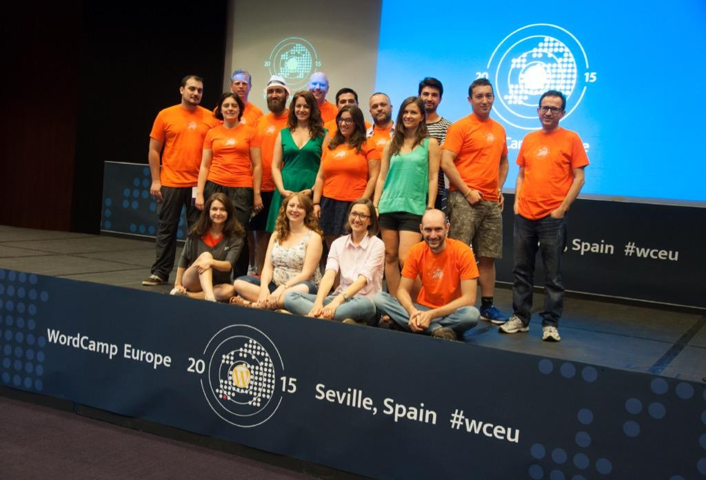 WordCamp Europe 2015 Organizing team