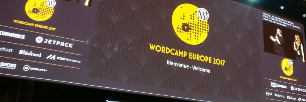 The opening of WCEU 2017 by Paolo Belcastro and Jenny Beaumont