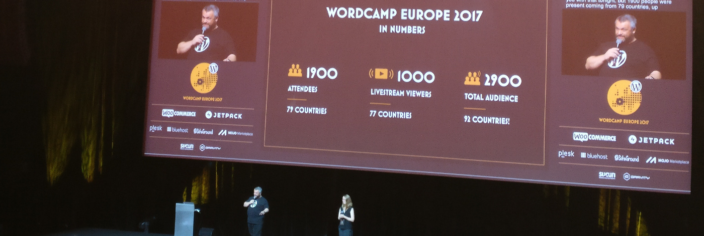 WordCamp Europe 2017 in numbers